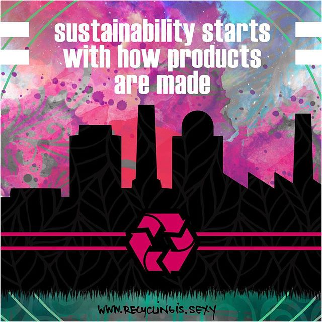 If your interested in saving the planet, this is where to start. Material selection at the design stage of product development. Get smart about materials...and demand better.  #designforrecycling DfR...its a real thing, look it up. #materialmindfulness #RISlifestyle #zerowaste  Art by the talented & thoughtful  @therealsomedayk