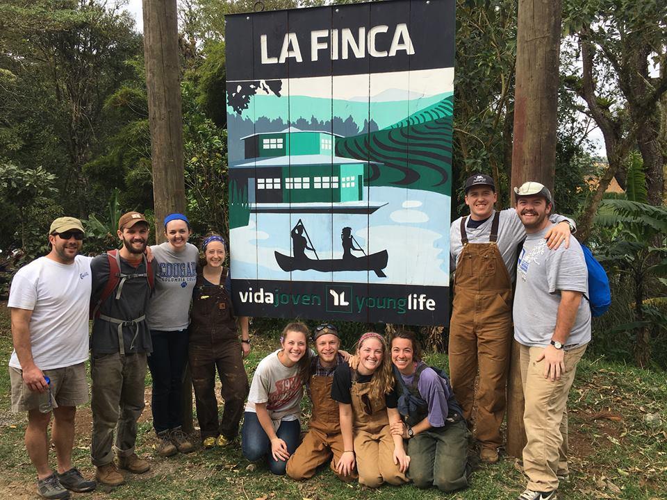 The Windy Gap team at La Finca, a Young Life camp in Nicaragua!