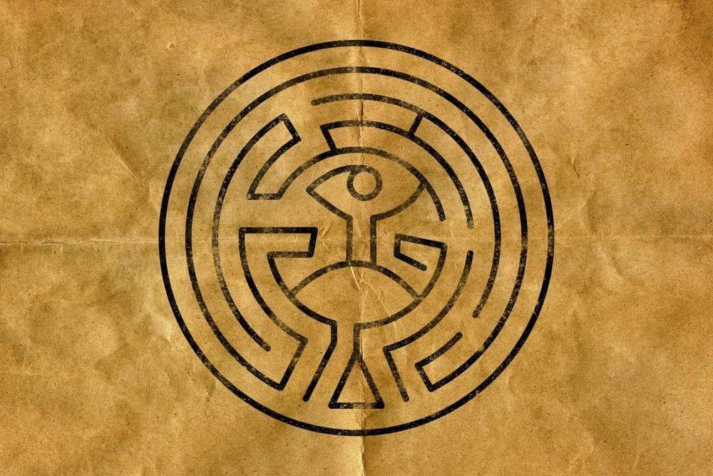 (Westworld Maze Logo: mattwilliamsart)