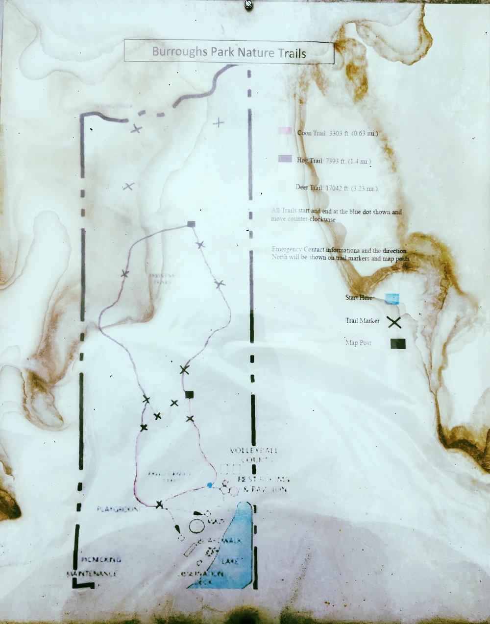 Burroughs Map