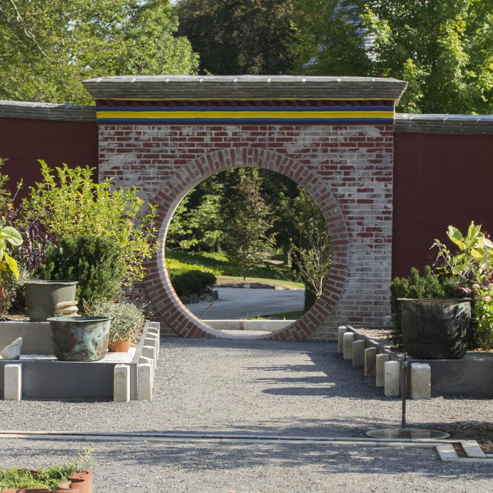 Best part of Naumkeag: the secret Buddhist shrine and garden.