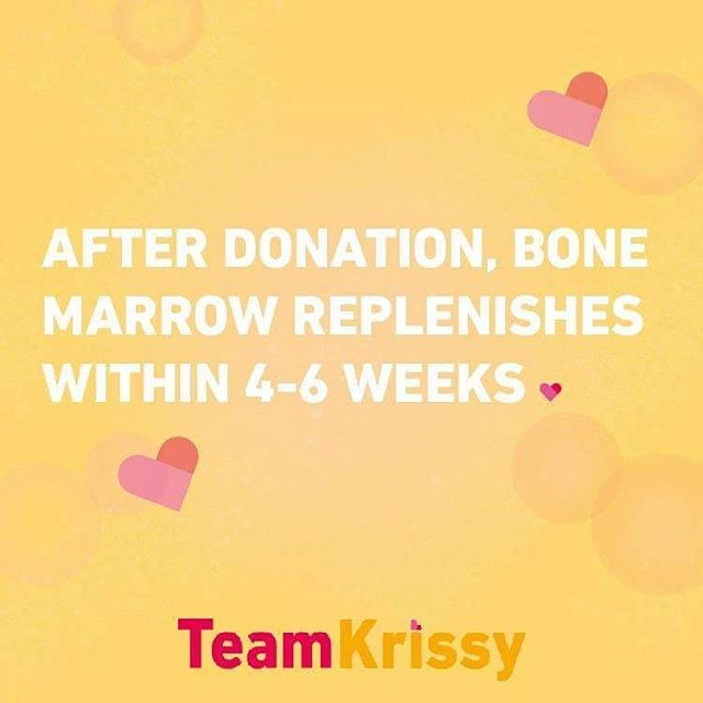 Donating bone marrow is not like donating other organs. Marrow regenerates completely in a few weeks! Mild discomfort for a life seems like an okay trade to me! Consider registering! See link ⬆  www.teamkrissy.com  You are the cure someone is looking for!  Please like and tag a friend in the comments!  #teamkrissy #savekrissy #bonemarrow #savealife #bethematch #donate #lifesaver #volunteer #causes #dogood #inspiration #follow #mixedmatch #mixed #hapa #urgent #dosomething #love #hope #mixedrace #japaneseamerican #instagood #repost #instalike #MDS #raredisease #transplant #fighton #multiracial #help