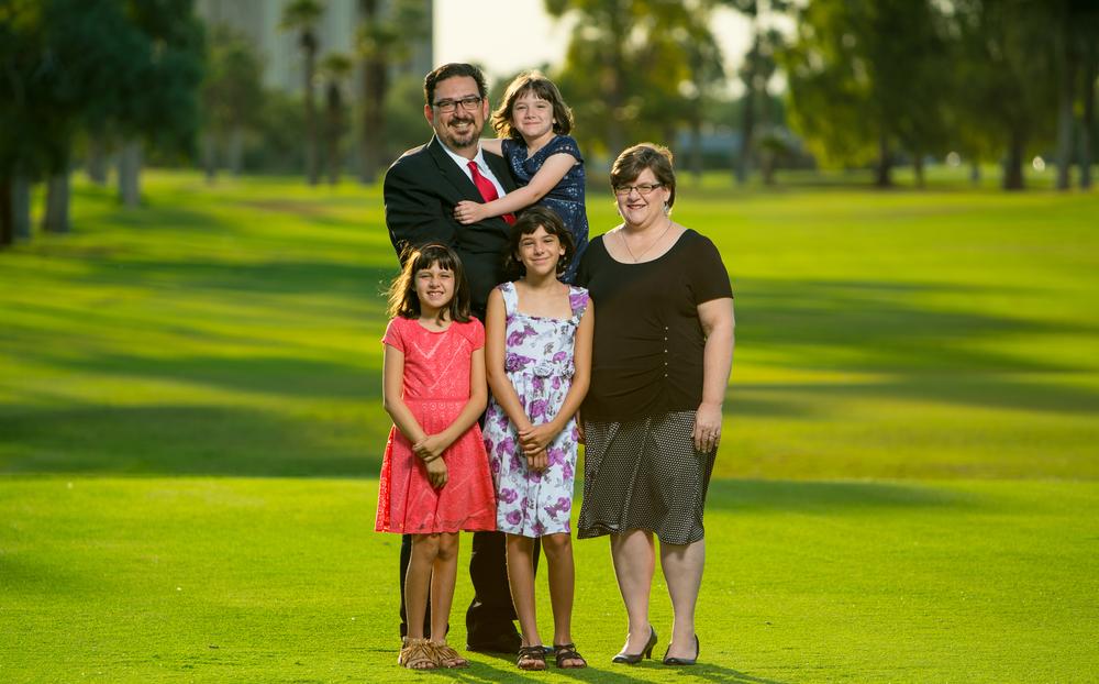 Adrian Fontes & Family