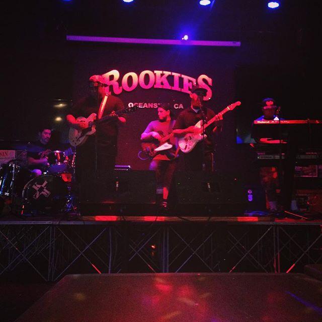 @klnm_music killin it at @iloverookies !!! These guys are amazing!!! Big love @onpointpromotions for having us!!! #mojaveroots #desertrhythmproject #klnoisemakerz #socalreggae