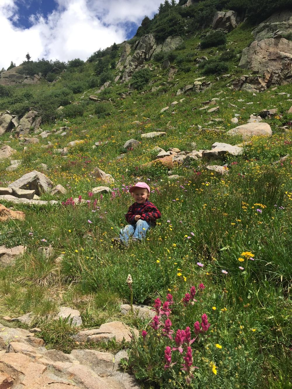 At Hope Lake near Telluride,Colorado.