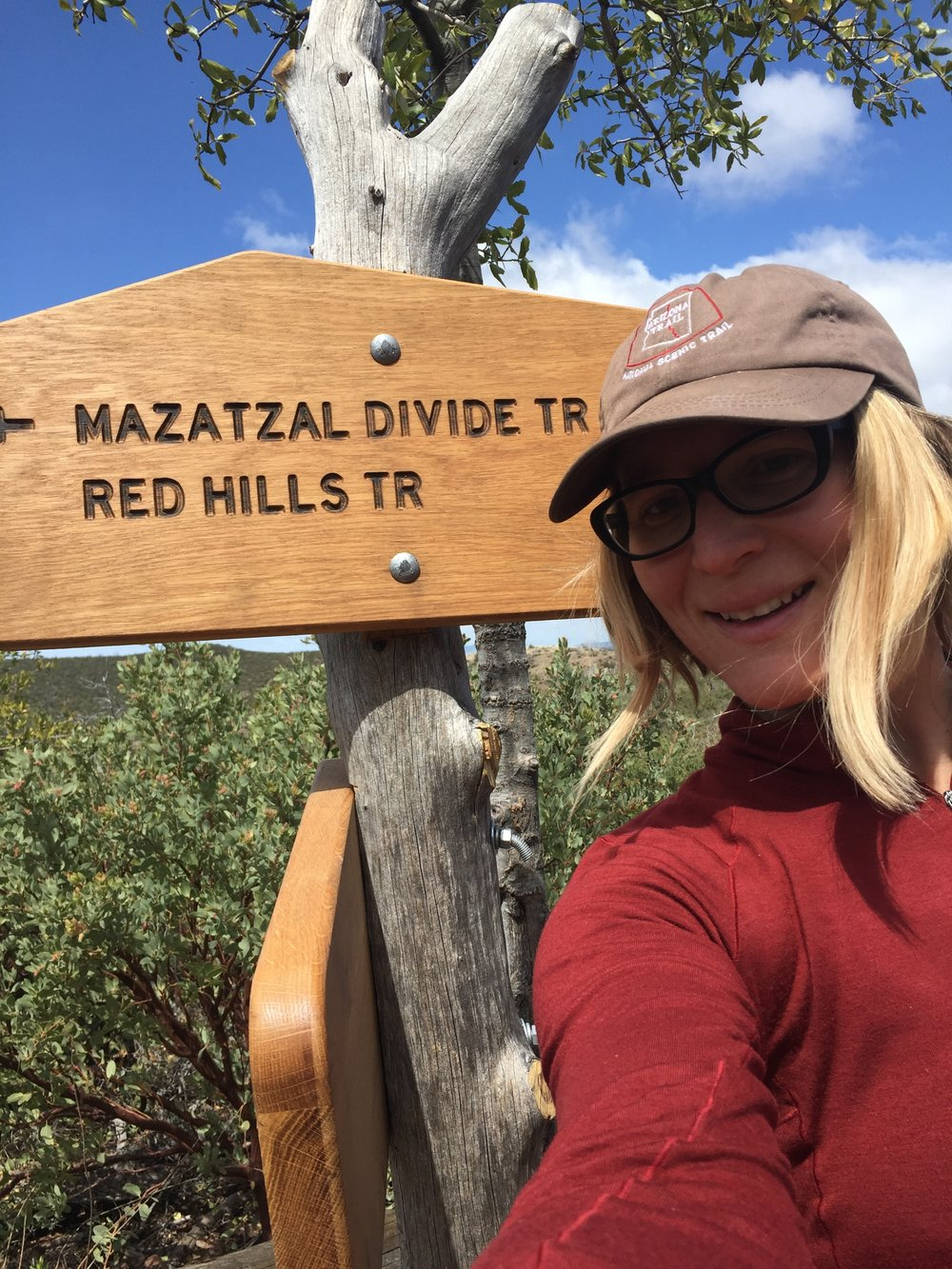 Finally made it to the divide!