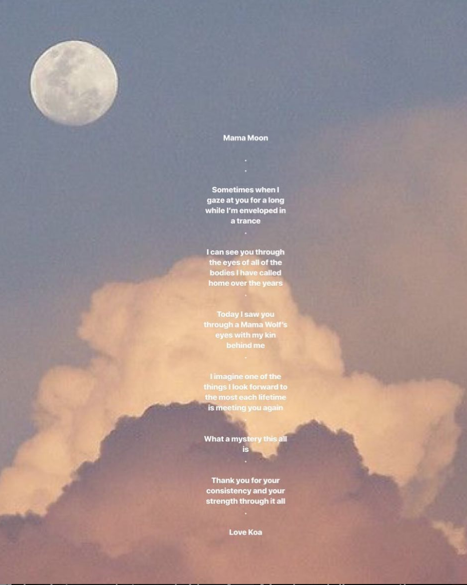 A love letter to Mama Moon