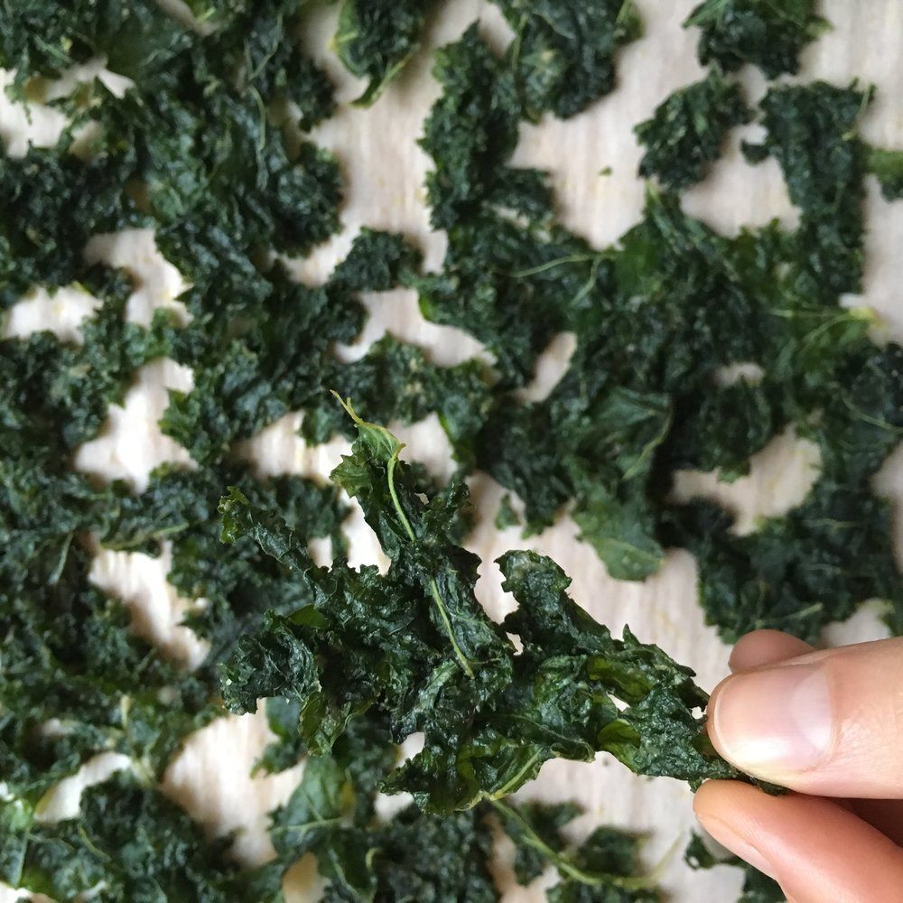 Perfect Kale Chips  - Is there anything better than a fresh batch of crispy kale chips? Just try not to eat them all at once! And if you do manage to end up with any leftovers, I'll share with you the secret to keeping them crispy for days.
