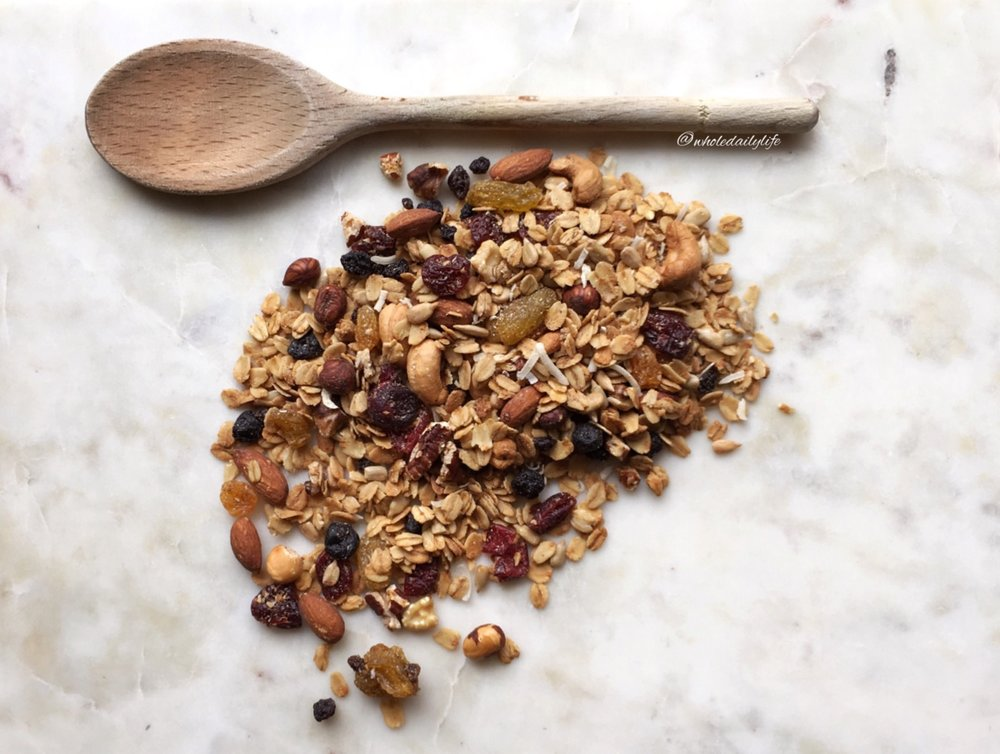 Perfect Granola  - I don't indulge in grains often, but when I do, this is among my favorite treats!