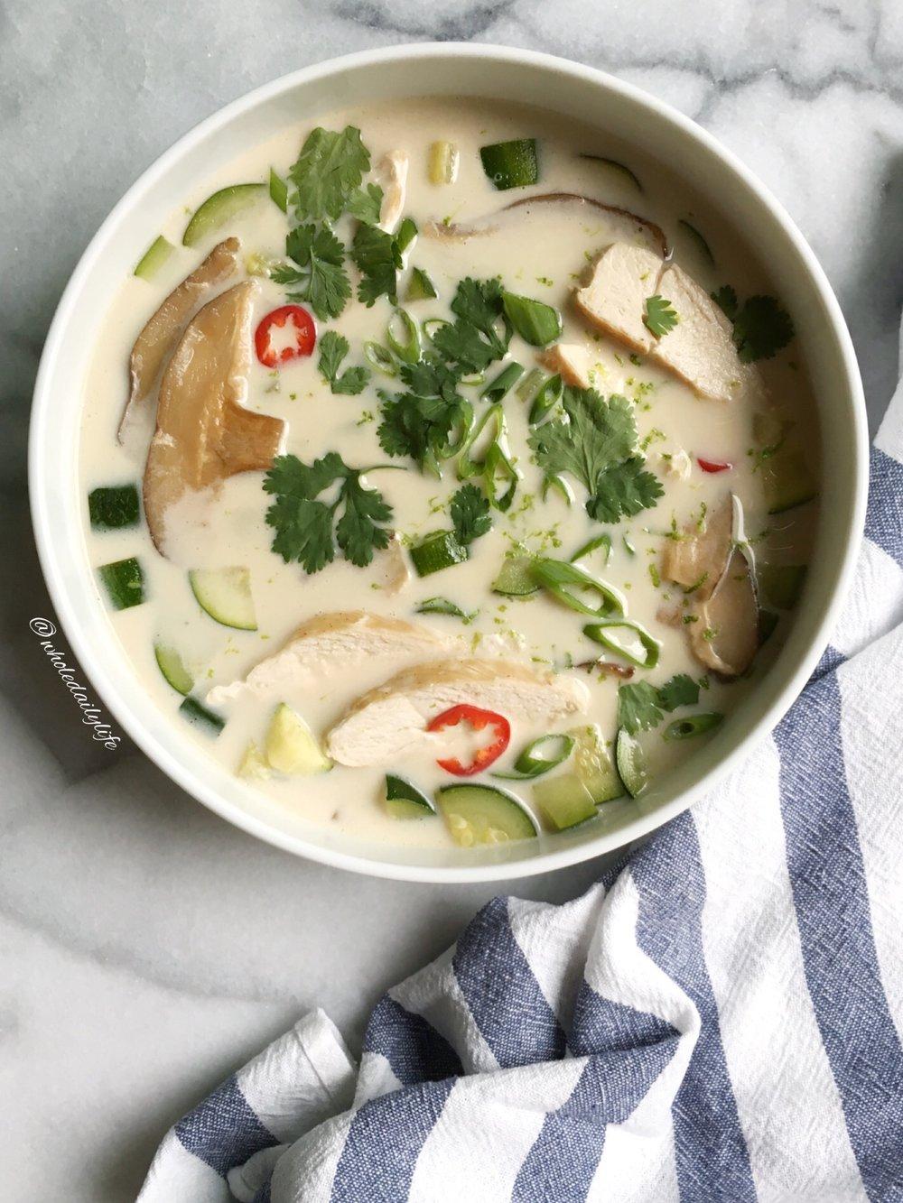 Tom Kha Gai | Whole Daily Life
