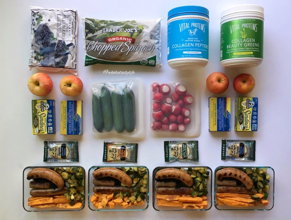 Whole Daily Life Meal Plan 9/18/17 + Expo East!
