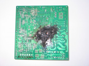 Image of Gecko Damaged Board