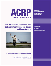 ACRP Synthesis 23—Bird Harassment, Repellent, and Deterrent Tech