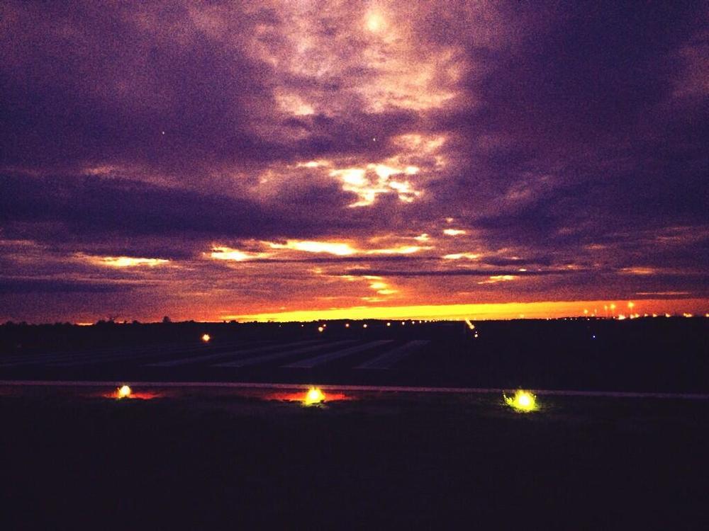 Runway Sunrise
