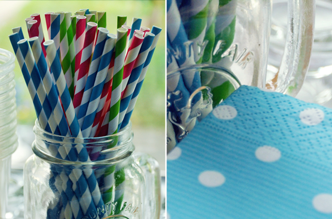 DOUBLE HORIZONTAL-STRAWS-NAPKINS