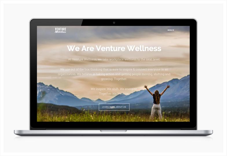 VENTURE WELLNESS WEBSITE