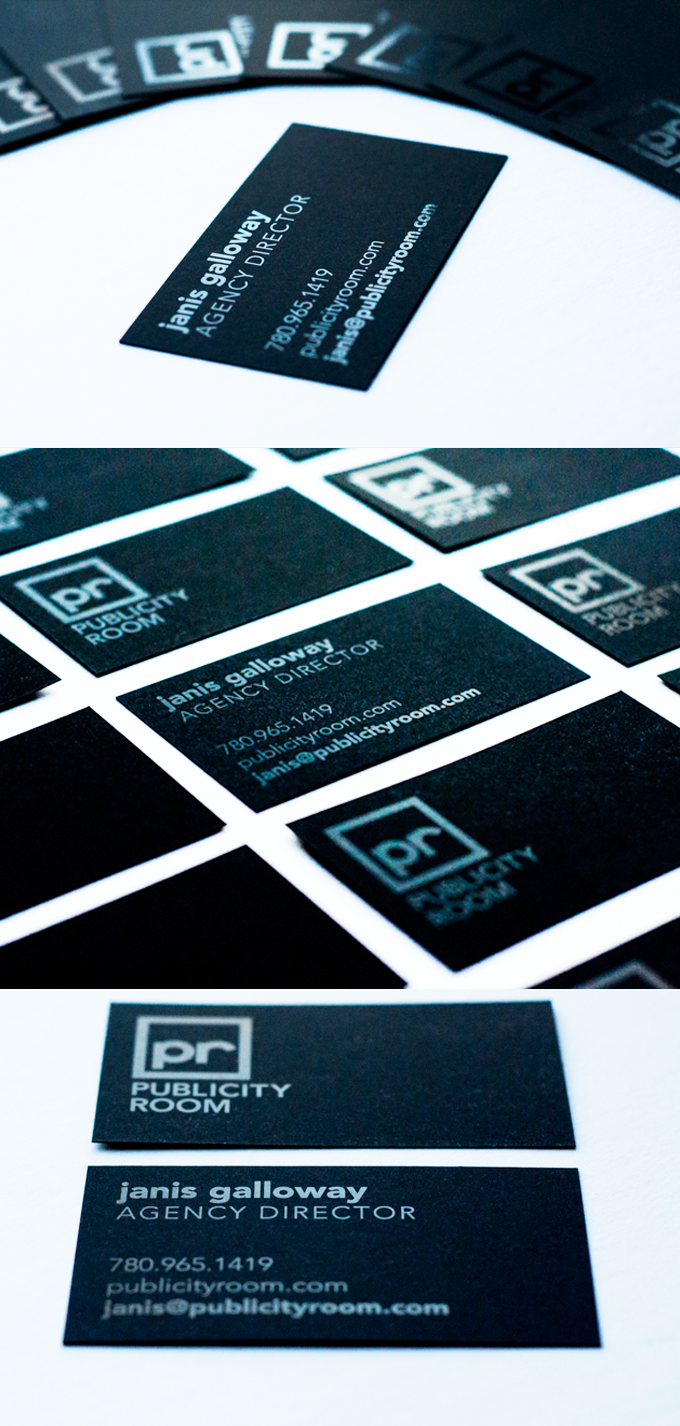 Publicity Room Business Cards