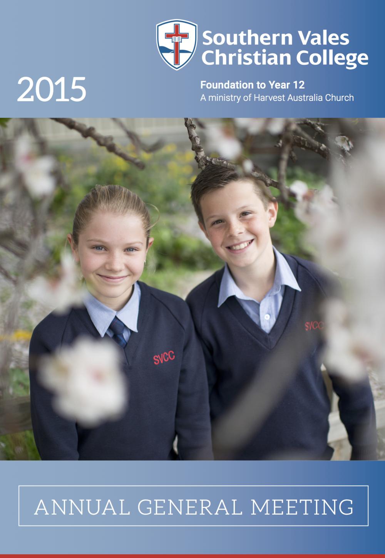 AGM Report 2015