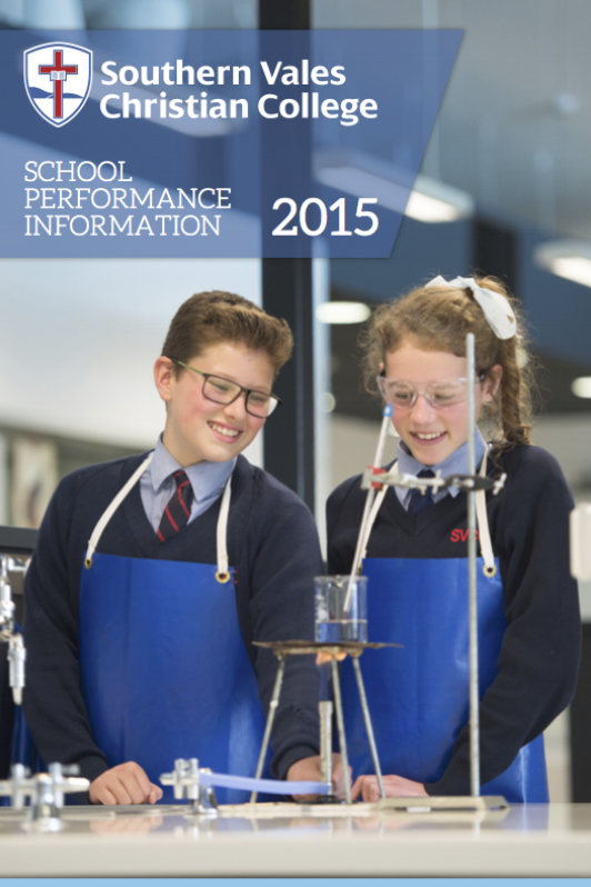 School Performance Data 2015