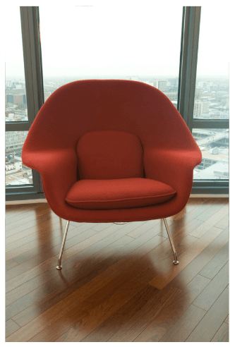 Bachelor Pad accent chair