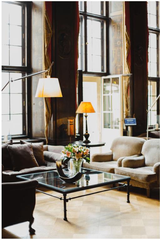 Stylish Bachelor Pad Living Room