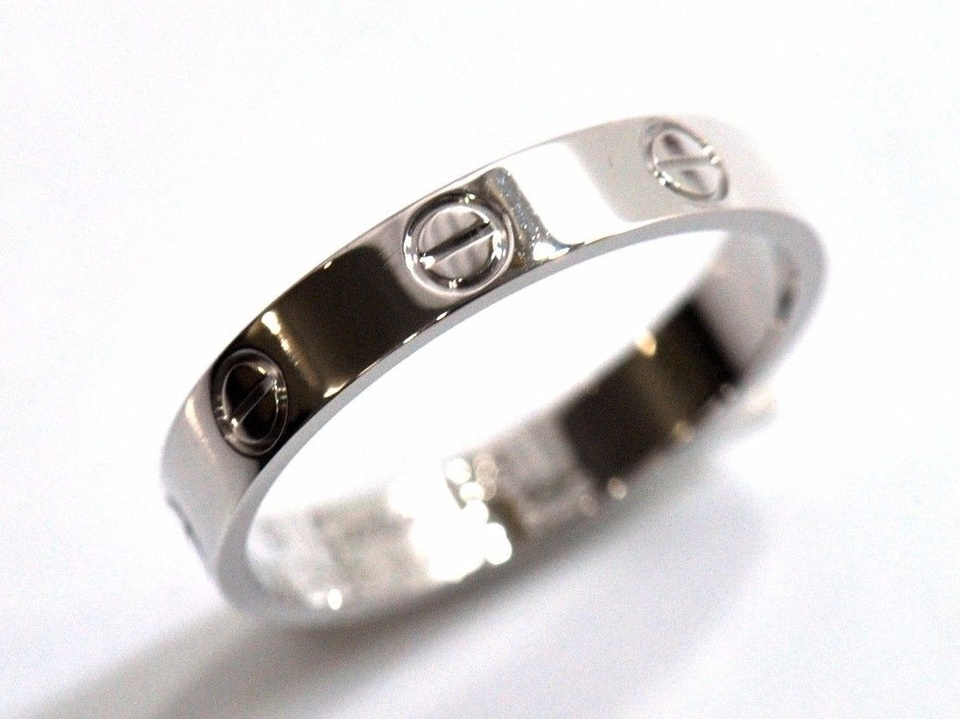 Vintage Cartier Love Ring Set in White Gold — T KRUSE