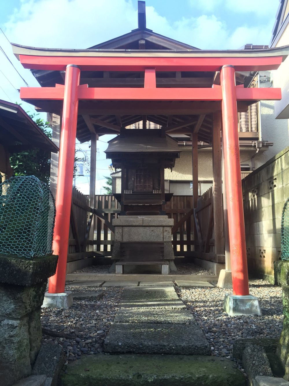 Typical shinto temple scattered around the streets of Japanese cities