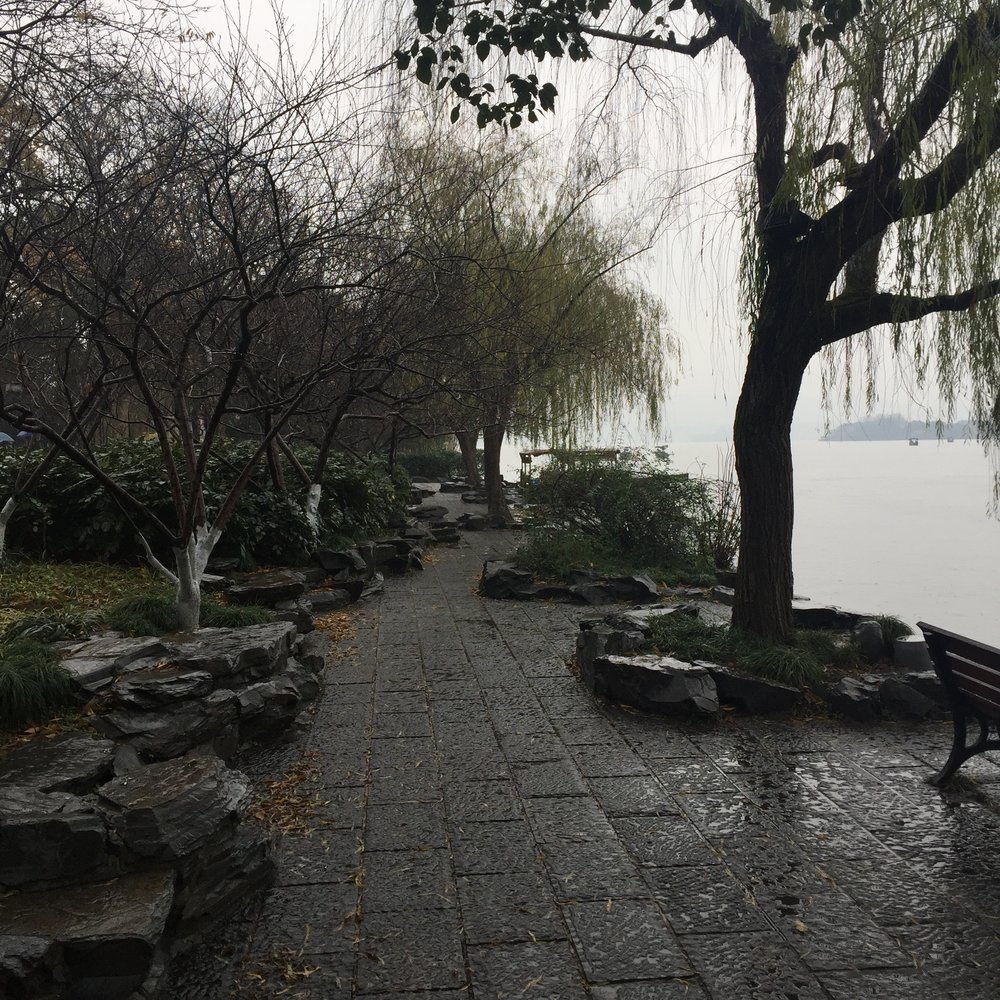 The banks of West Lake