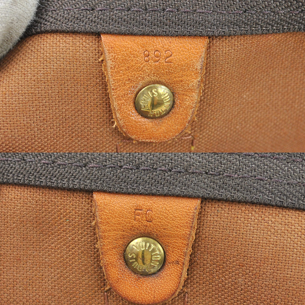 LV Keepall Made in USA in February 1989