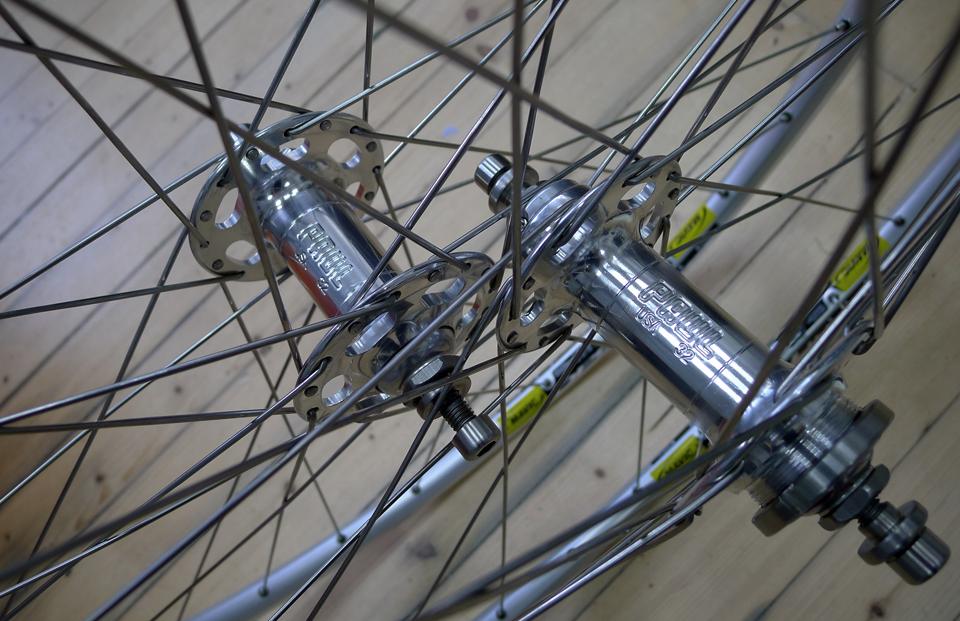 We build custom wheels for all types of bikes.