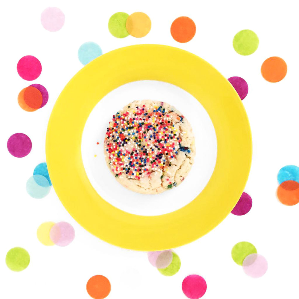 Confetti Cookie for Doughbies
