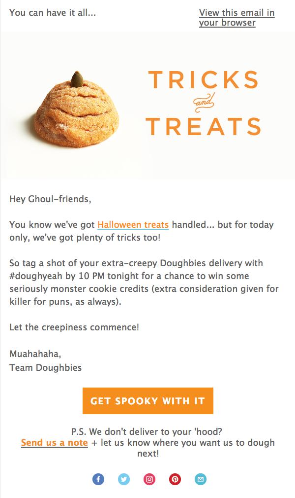 Halloween Tricks for Doughbies