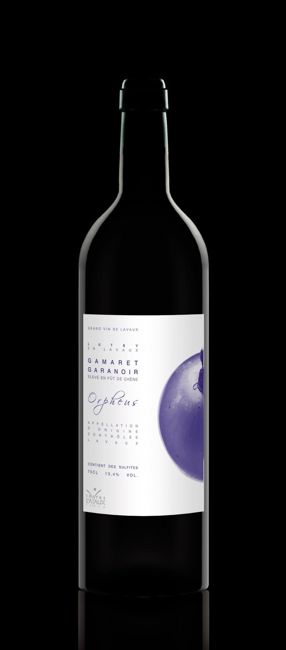 """Gamaret-Garanoir """"Orpheus"""" Aged in oak barrels Lavaux AOC"""