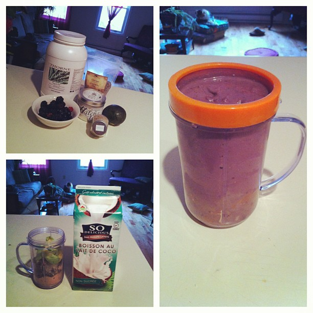 A standard protein shake:    1. Protein powder: I choose hypoallergenic protein from rice & pea. Together they make a complete amino acid profile. Look for something high in protein, ~20g, sweetened with stevia (a no calorie natural sweetener).     2. Antioxidants: mixed berries are high in antioxidants, and low on the glycemic index. Look for organic.     3. Fibre: I use 1 tbsp of chia seeds. You can also use freshly ground flax or psyllium husk.     4. Healthy fats: avocado, higher in potassium than bananas, very low in fructose, and full of heart healthy mono saturated fats! Usually ¼ will do.     5. Mix: I use unsweetened coconut milk, but almond, rice, non gmo soy etc will do.     6. Extras: matcha green tea, turmeric, maca powder found at bulk food stores, lecithin, greens powder or a handful of spinach or kale. All depends on taste and what type of support you want!    7. Winter tip: add warming spices to you shake like a pinch of cardamom or cinnamon. If you still find shakes too chilly first thing in the am. have them as midmorning snacks or after workout snacks.     Shake away, and enjoy!    #dartmouth #halifax #naturopathic #health #proteinpowder #smoothies #shakes #avocado #matcha #cardamom #berries #coconutmilk (at Dartmouth Naturopathic Health Centre)