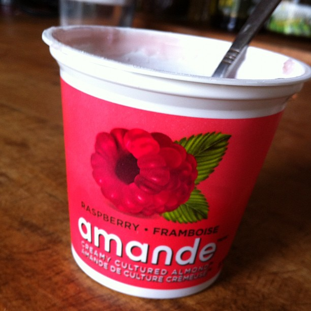 Dairy free, gluten free and sugar free yogurt!