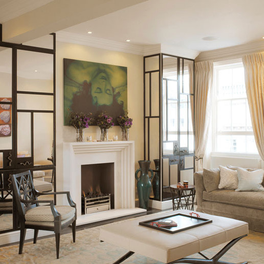 KNIGHTSBRIDGE A top-floor flat in an old house in Knightsbridge