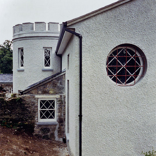 IRISH TOWER An Irish cottage extended to make a new family house