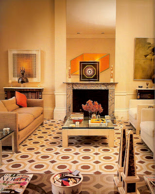 David Hicks Interior Designer YELLOW Drawing Room