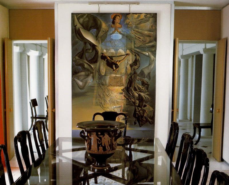 DAVID HICKS INTERIOR DESIGNER DINING ROOM