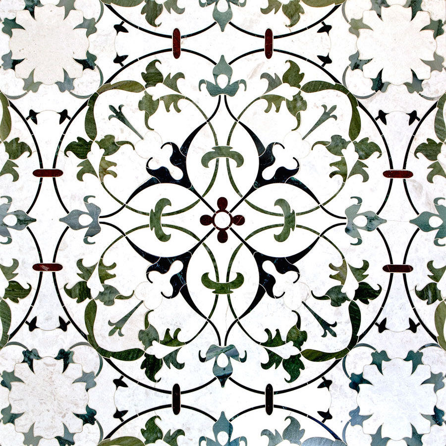 DAVID HICKS ASHLEY HICKS SPINET MOSAIC TILES