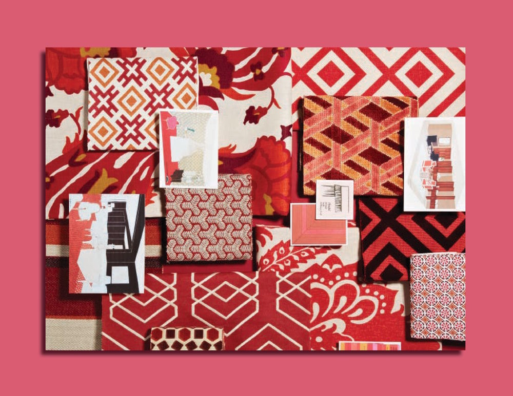 DAVID HICKS ASHLEY HICKS LEE JOFA FABRICS MOODBOARD