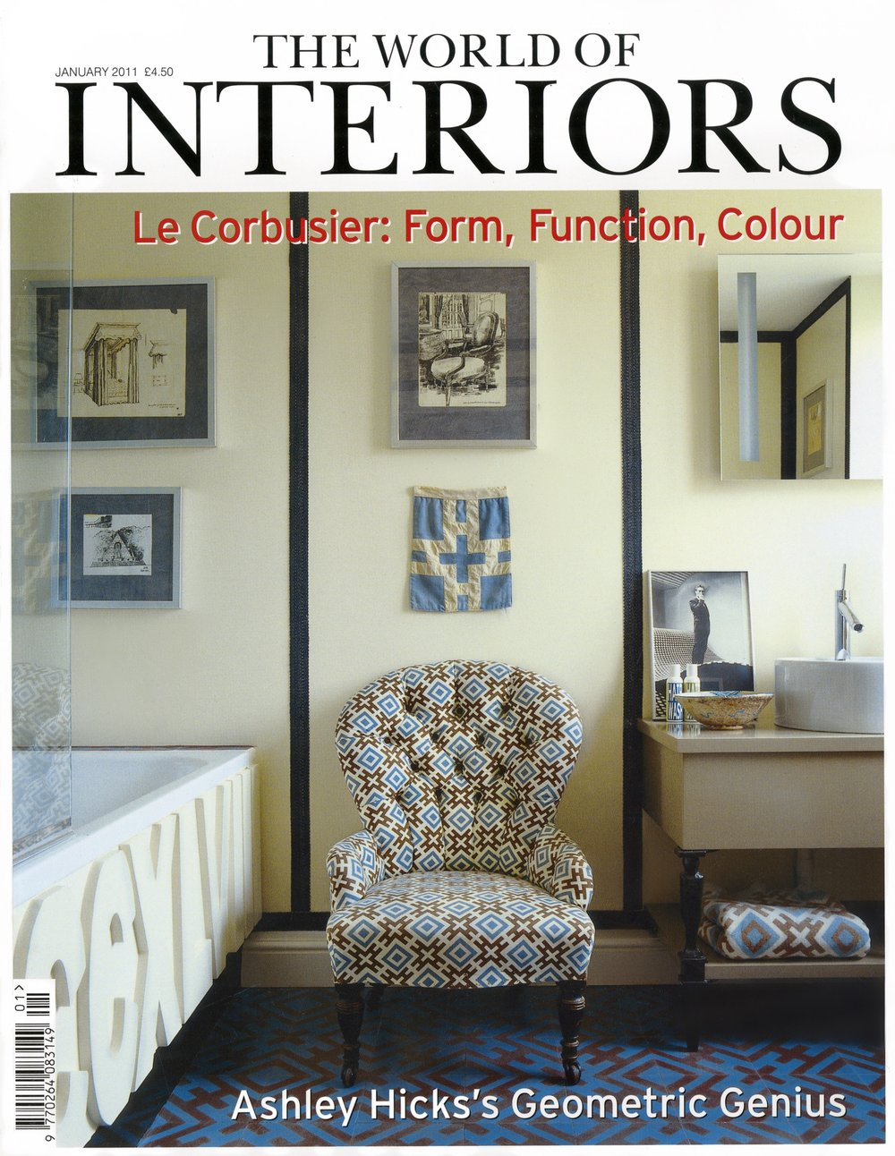 THE WORLD OF INTERIORS January 2011 - United Kingdom