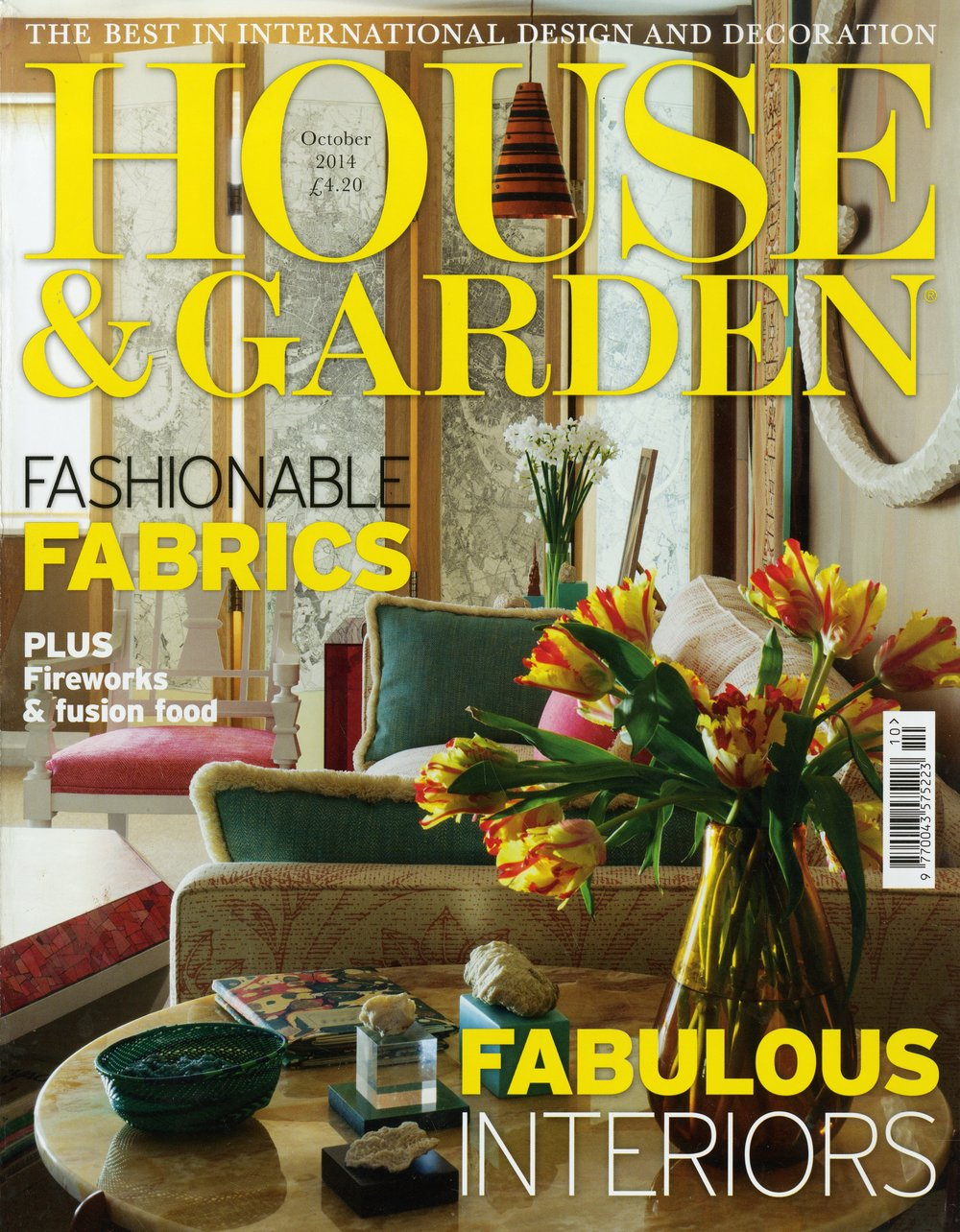 HOUSE & GARDEN October 2014 - United Kingdom