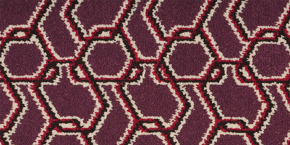 ASHLEY HICKS QUIRKY B CARPETS CHAINMAIL