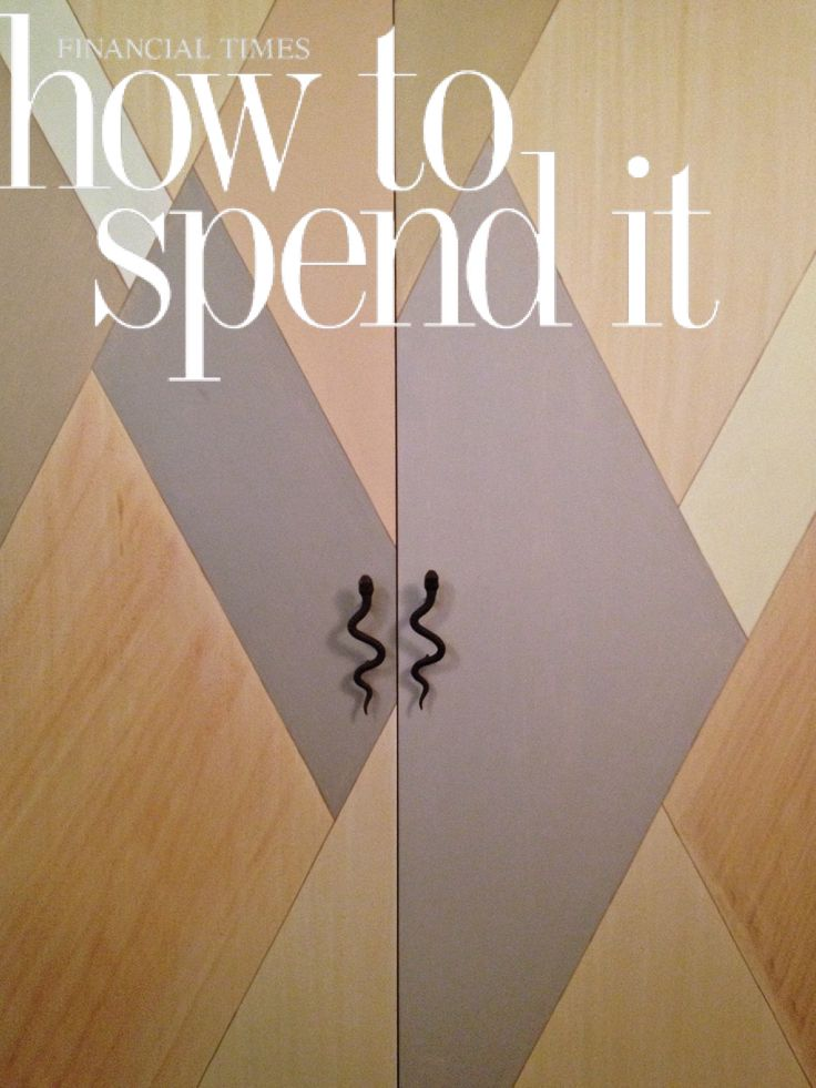 FINANCIAL TIMES : HOW TO SPEND IT November 2011 - United Kingdom