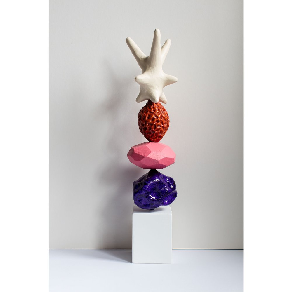 ashley hicks totem sculpture pouf