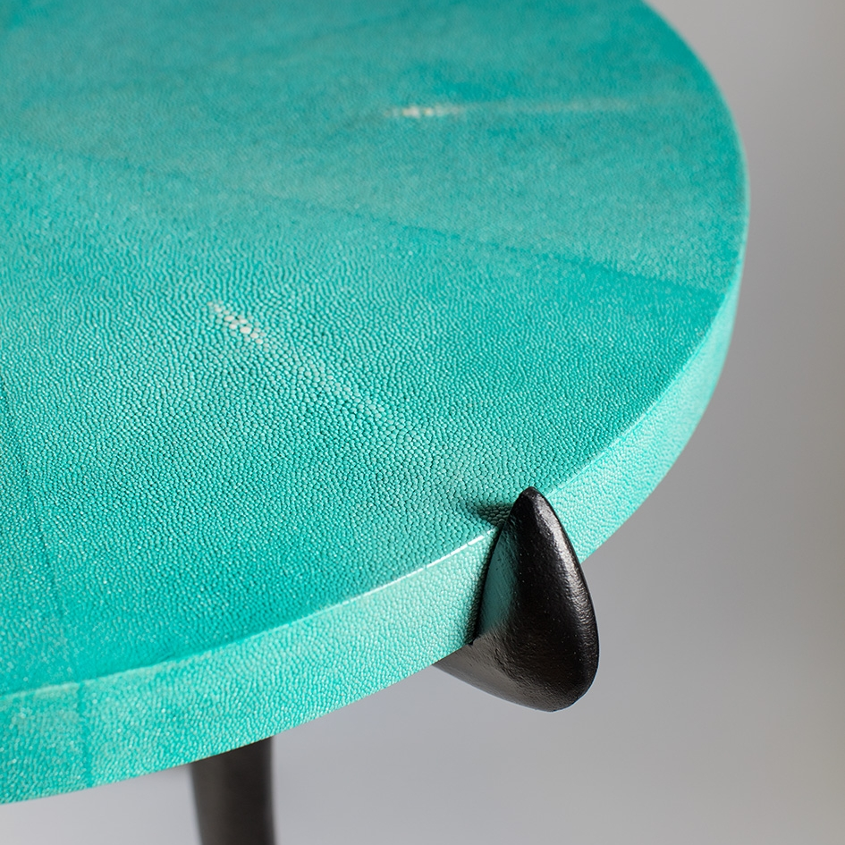 ASHLEY HICKS SHAGREEN SABRE TABLE