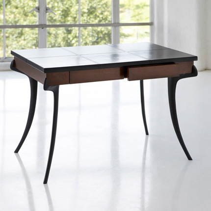 SABRE LEATHER-TOP DESK ASHLEY HICKS FURNITURE