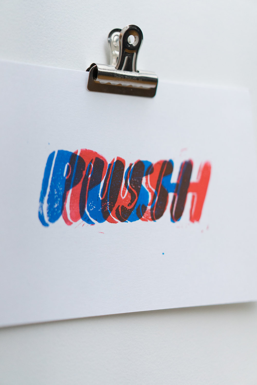 """Push""  Edition of 9"