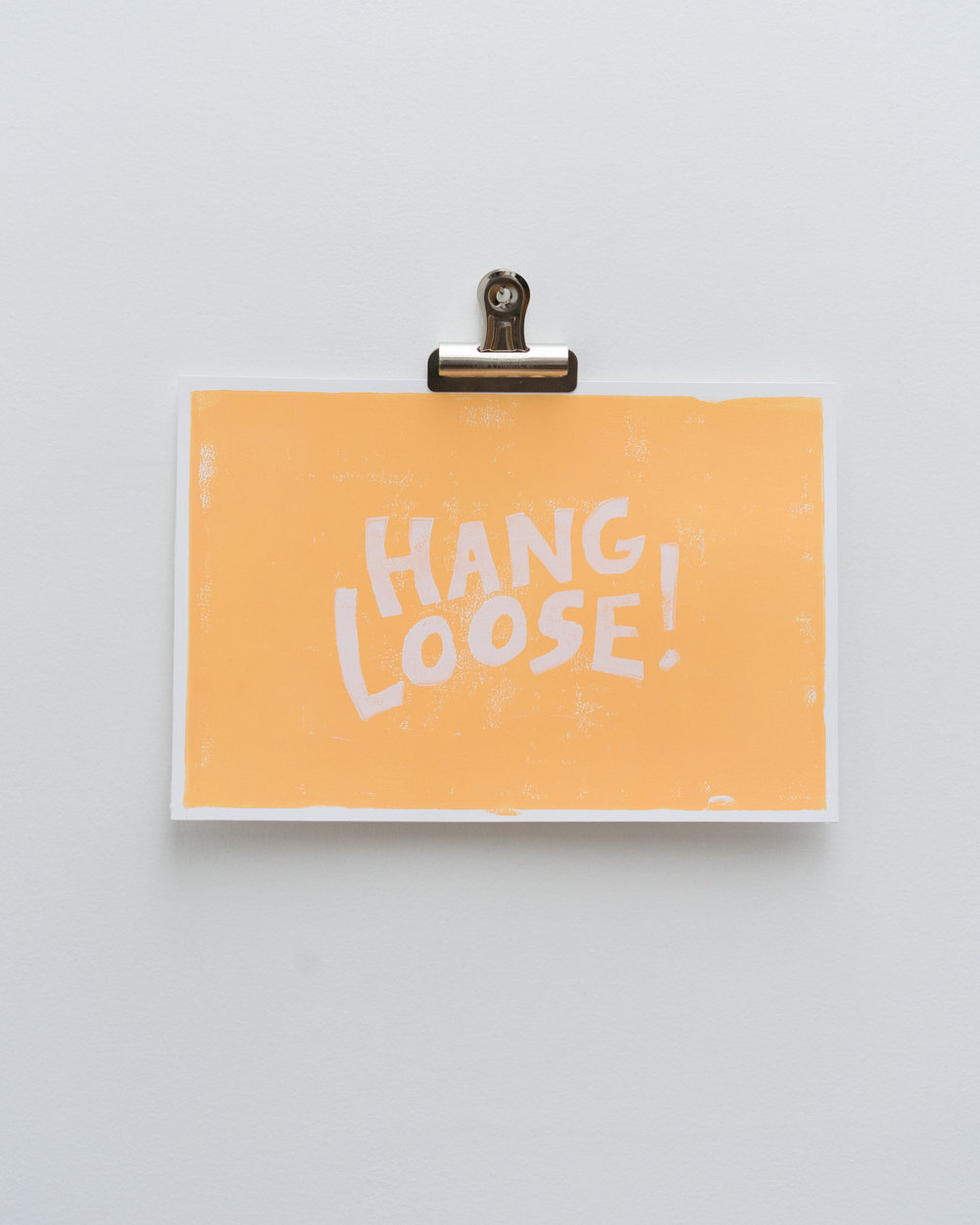 """Hang Loose II""  Edition of 12"
